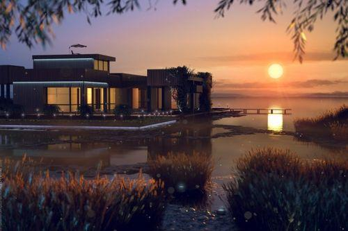 Дом с бассейном – соревнования 3D дизайнеров