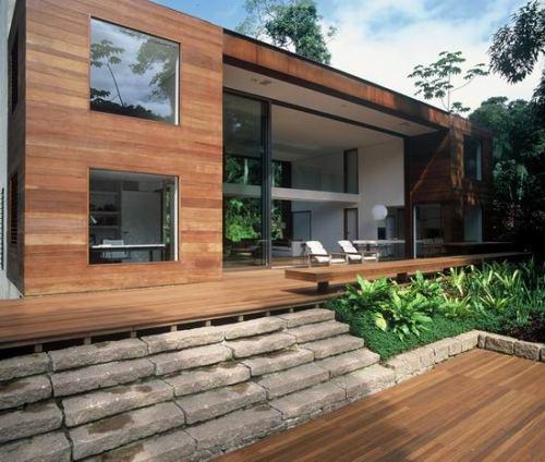 Дом в лесу архитектора Артура Касаса