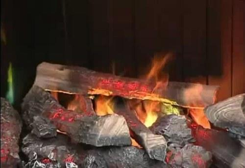 Электрический камин с реальным пламенем