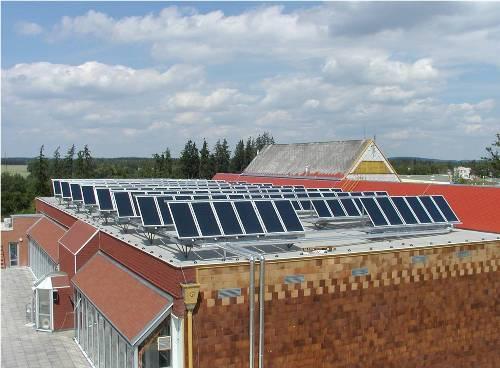 Где установить солнечный коллектор?