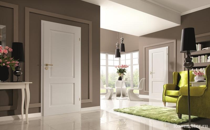 Как подобрать дверь для комнат соответственно полу?