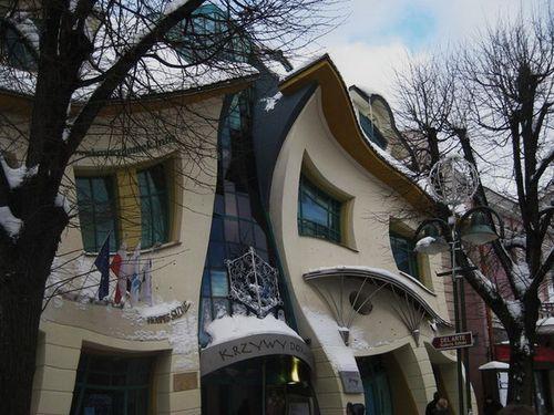 Кривой дом в Сопоте