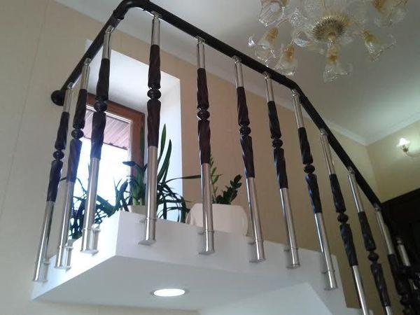 металлические лестничные ограждения