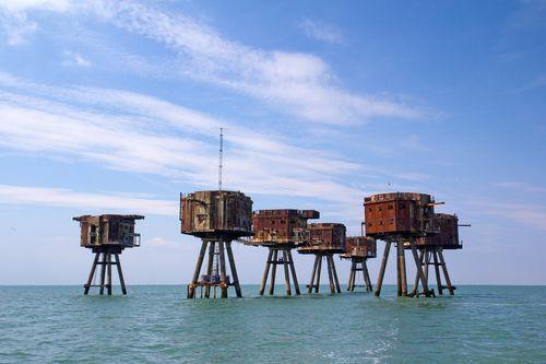 Морские форты Монселла, Англия