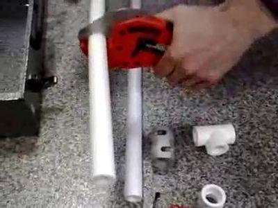 Пайка полипропиленовых труб. Как соединяются трубы из полипропилена?