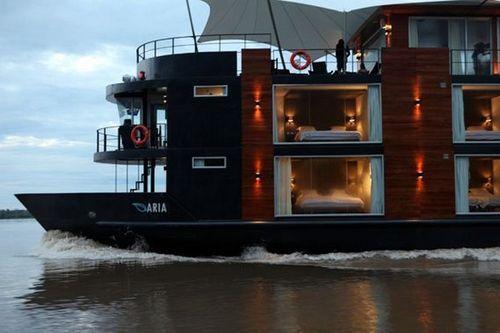 Плавучая гостиница M/V Aqua