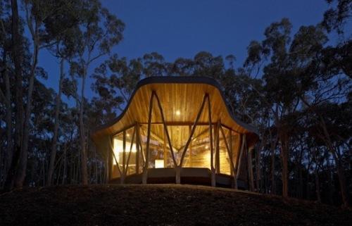 Потрясающий современный дом Trunk House