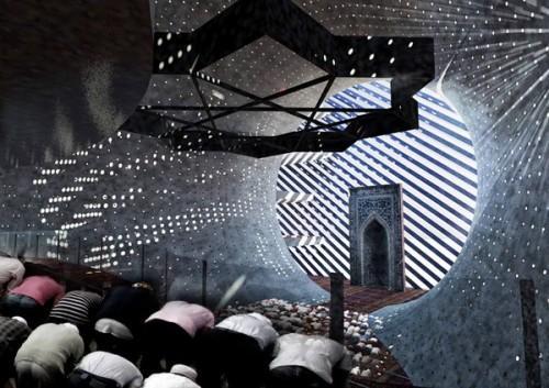 Проект мечети на солнечных батареях в Приштине