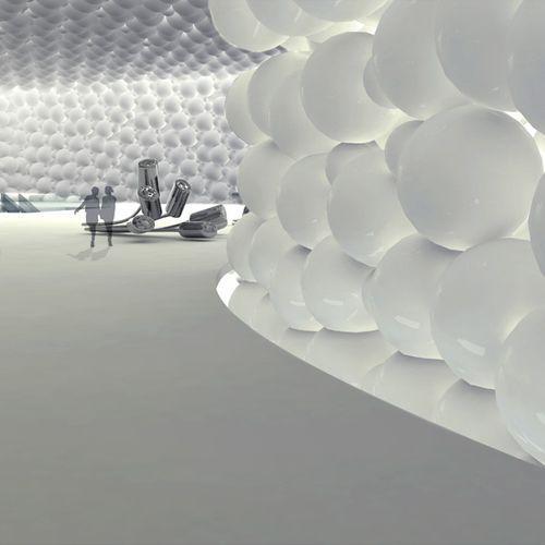Проект музея искусств от James Law Cybertecture