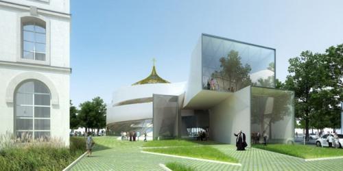 Проект православного центра в Париже