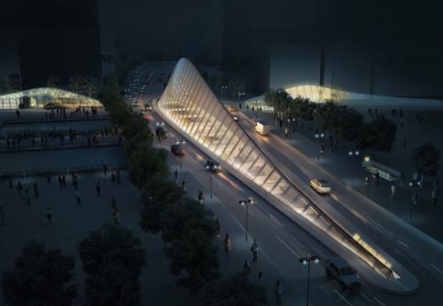 Проект станции метро в Софии, Болгария