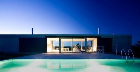 Простые формы в архитектуре дома
