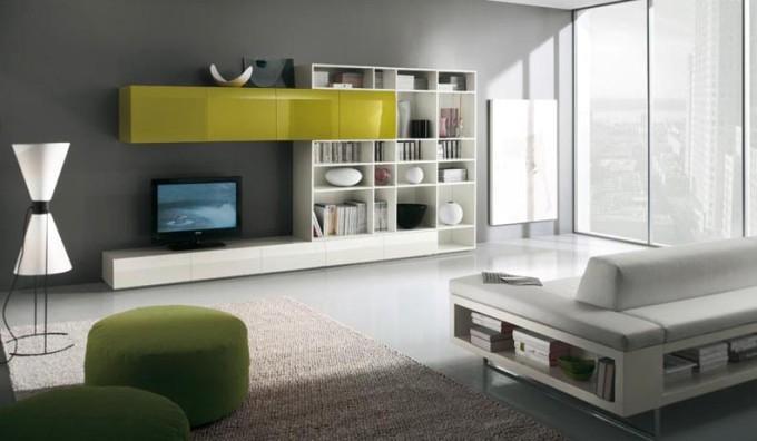 Современные стенки под телевизор