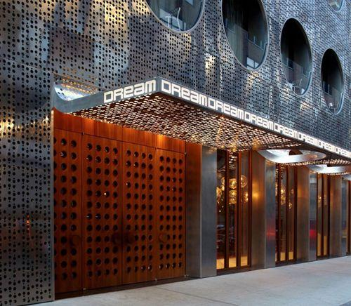 Светоотражающий фасад в архитектуре здания
