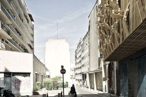 Ультрасовременное общежитие для Парижских студентов Innovative Student Housing