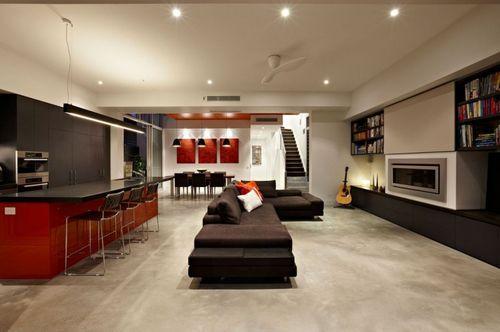 Яркий современный дом в Мельбурне