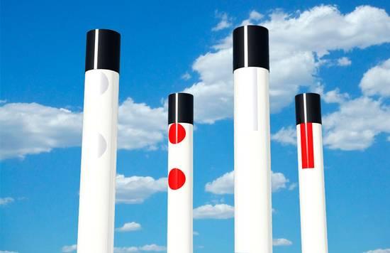 Пластиковые дорожные столбикиПластиковые дорожные столбики