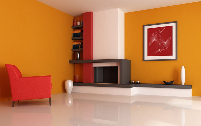 Яркие обои для дизайна дома