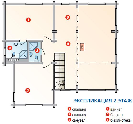 План 2 этажа (Фото: Елена Галич)