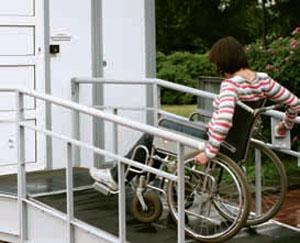 Вход в дом для людей в кресле- коляске