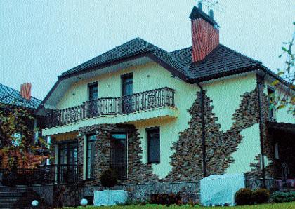 Фасад дома (Фото: Сергей Орлов)