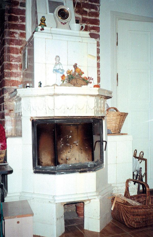 Камин на дровах как дополнительный источник тепла