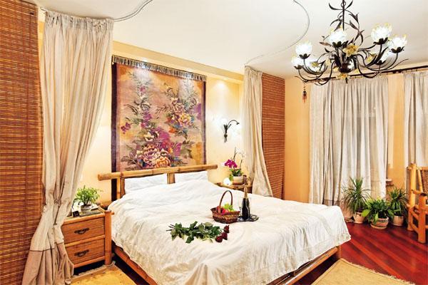 Фитодизайн спальни