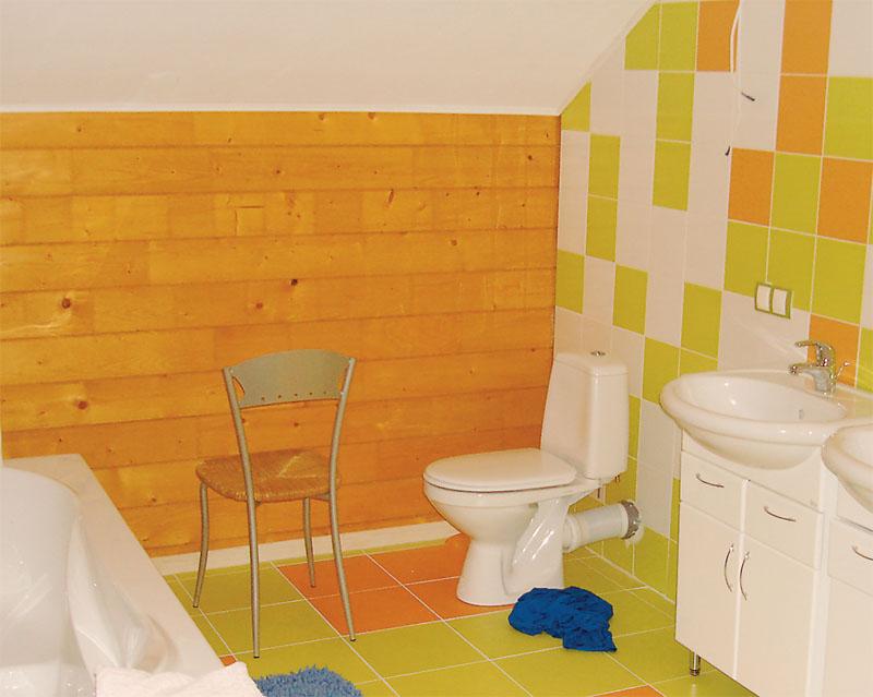 Детская ванная: веселая и жизнерадостная