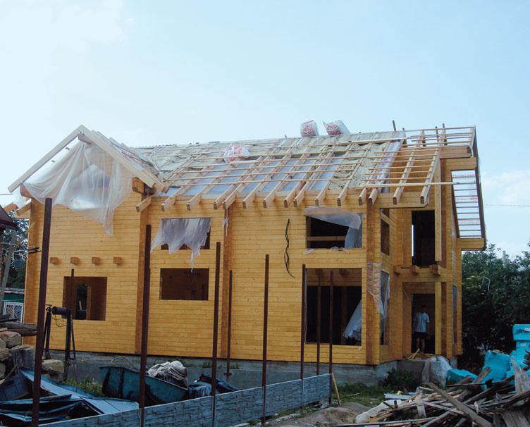 Устройство стропильной конструкции крыши