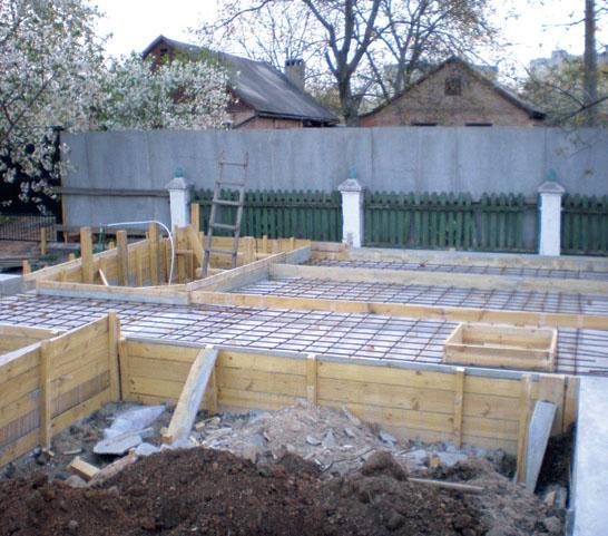 Основа под дом почти готова