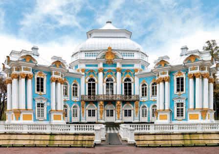 Различным архитектурным стилям присущи определенные цветовые сочетания. Барокко (золото в деталях, голубой либо зеленоватый фон на заднем плане).