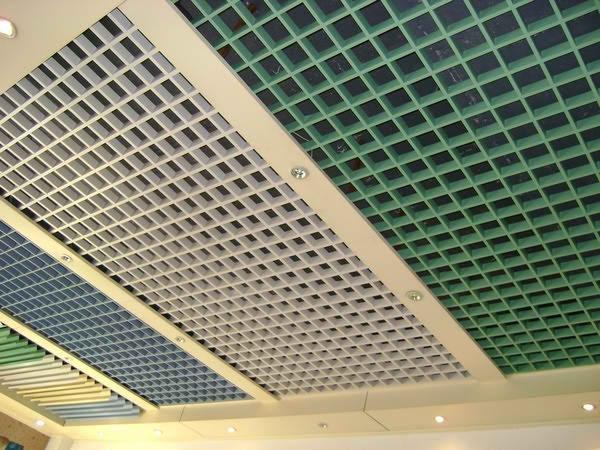 Ячеистый потолок