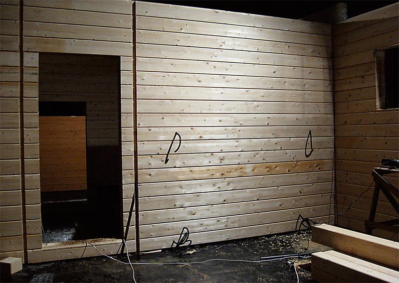 Выводы для монтажа электрофурнитуры на каркасной стене