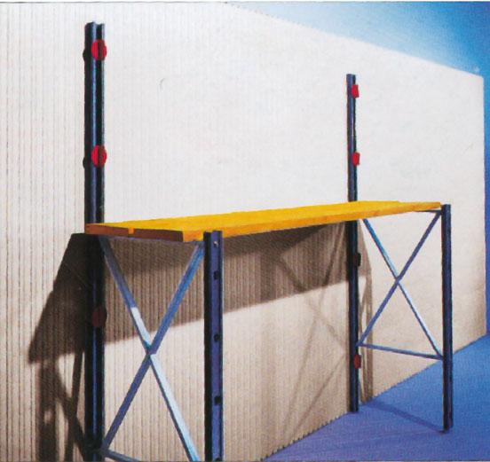 11. Для вертикальной фиксации опалубки использовать стойки и спиральные анкера Isorast