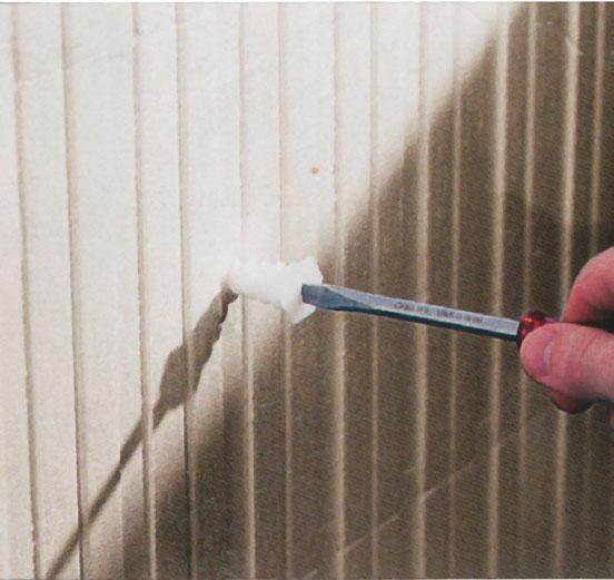 17. Легкое крепление специальным дюбелем в пенополистирол, прочное крепление в бетон