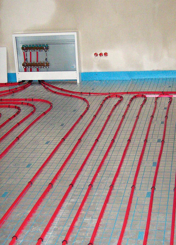 Максимальная длина греющего контура - 120 м (Фото: ООО KAN)