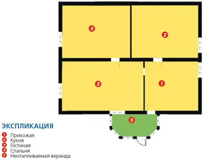 План дома до реконструкции (Фото: Ростислав Демидович)