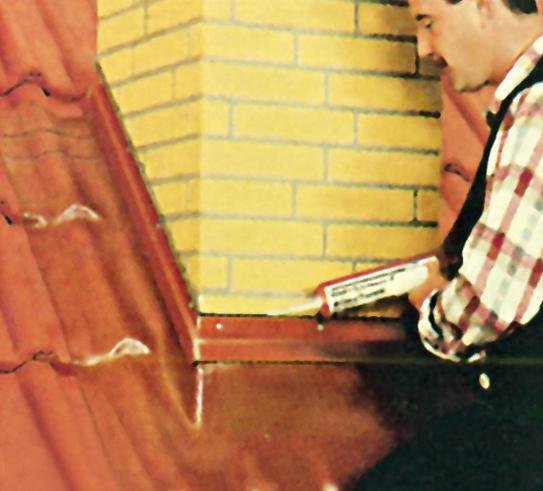 Для герметичного премыкания используют герметичные материалы (Фото: БРААС и архив АСС-МЕДИА)