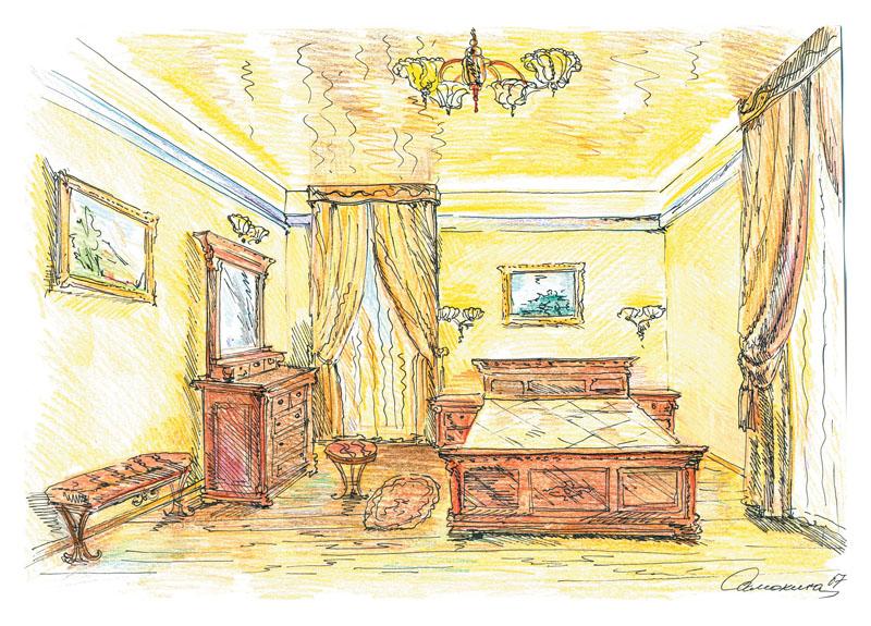 Перед реализацией все нюансы декорирования были тщательно продуманы декоратором и архитектором