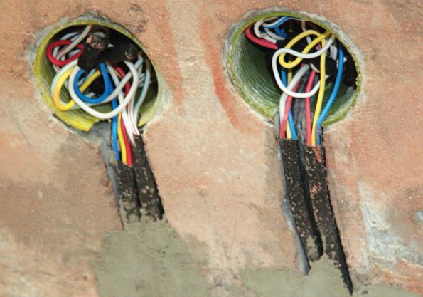 Разводка электропитания