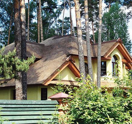 Крыша из соломы (Фото: TEGOLA)