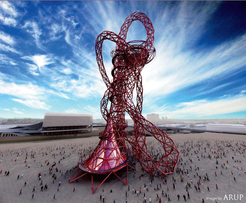 Лондонська вежа має займати те ж місце в семантичній структурі Ігор-2012, що й «Пташине гніздо» у Пекіні. (© ARUP)