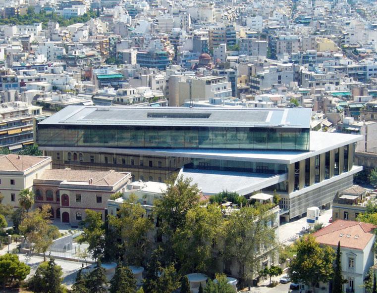 Музей Акрополя (Фото: Bernard Tschumi Architects)