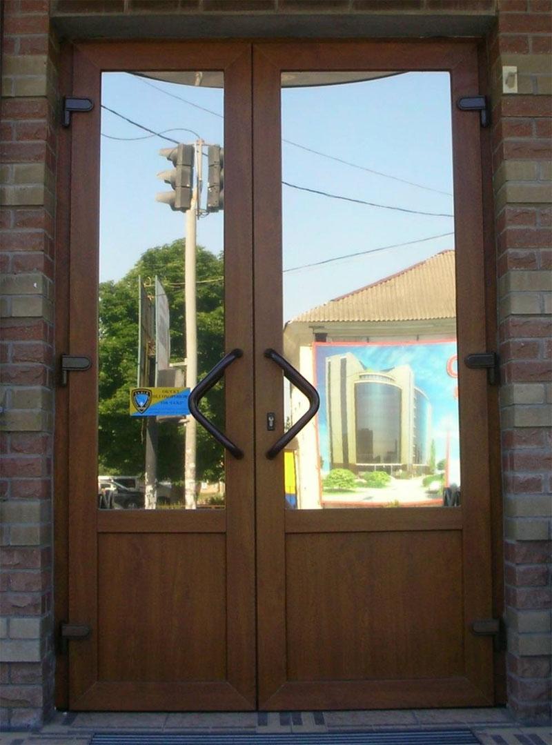 Варианты пластиковых дверей