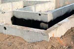 Гидроизоляция от грунтовых вод