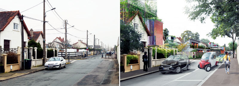 Преображение парижского пригорода в проекте Groupe Descartes