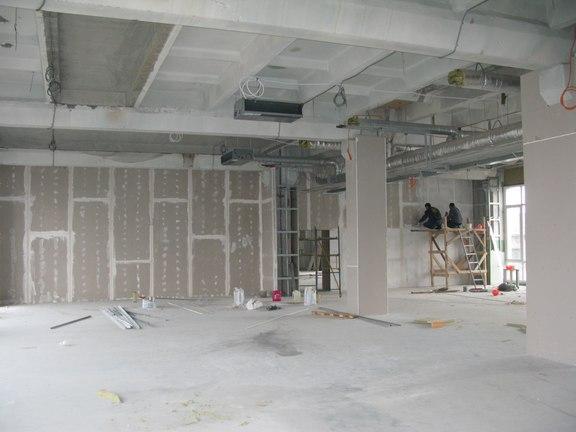 Работа строительной компании