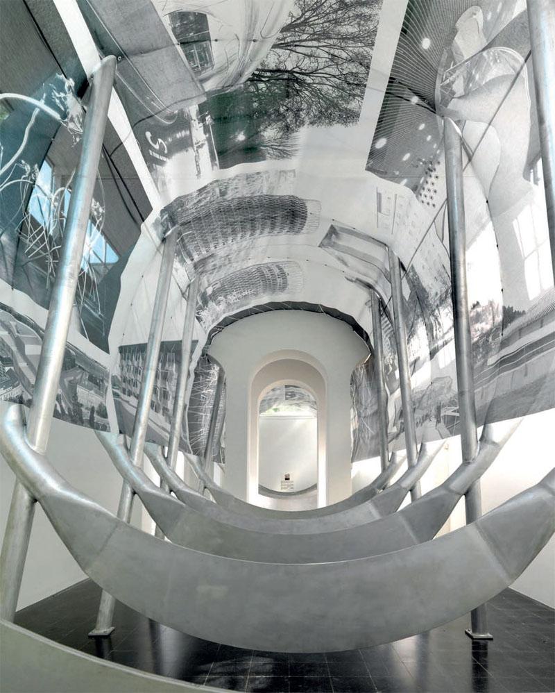Експозиція Австрії на цьогорічній бієнале символізує складну взаємодію австрійської архітектури й решти світу в епоху глобалізації (Фото: © EOMA)