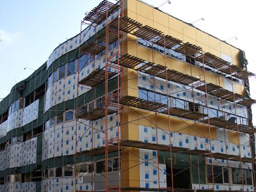 Фасад защитно-декоративный