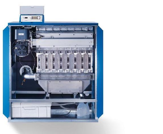 Напольный газовый конденсационный котел GB312